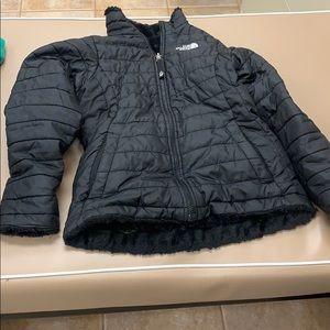 Girls medium fur lined jacket